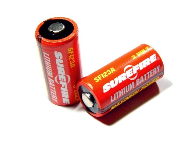 CR123A SF123A Lithiumzellen SureFire je Stück