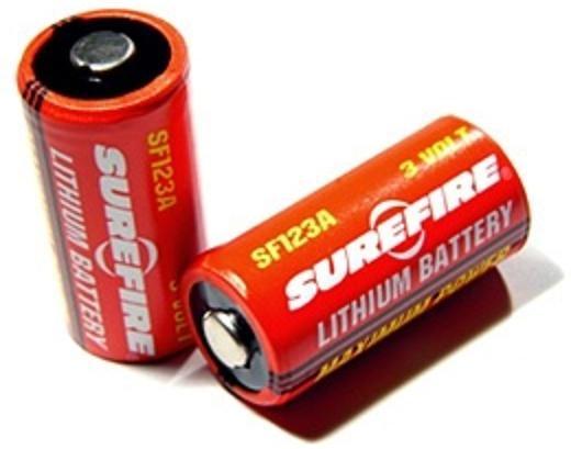 CR123A SF123A Batterie von SureFire im 2er Pack